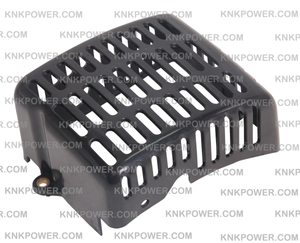 01-213 MUFFLER COVER ZENOAH 1E36F (33CC) ENGINE