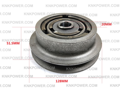 23-232B CLUTCH FOR PLATE COMPACTOR TAMPER