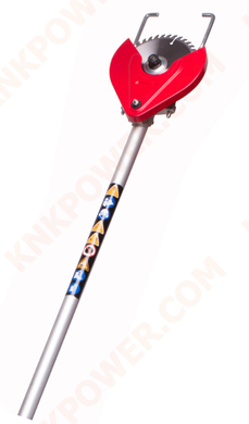 KM0408MF21 TCT SAW PRUNER ATTACHMENT Pipe Length:718MM Dia. of Pipe: 26MM Shaft: 705MM 9T x Square Packed with kraft carton