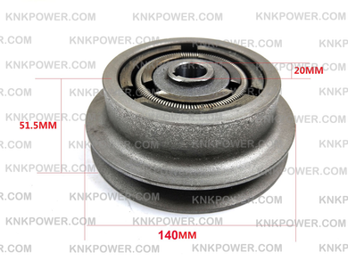23-232A CLUTCH FOR PLATE COMPACTOR TAMPER
