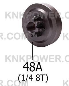 KM0403250-48A CLUTCH DRUM 1 4 8T (FOR 251)