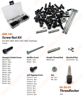knkpower [17086] SCREW NUT KIT