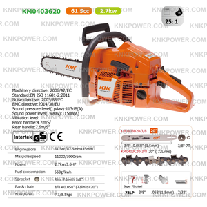 knkpower [6710] 61.5CC CHAIN SAW