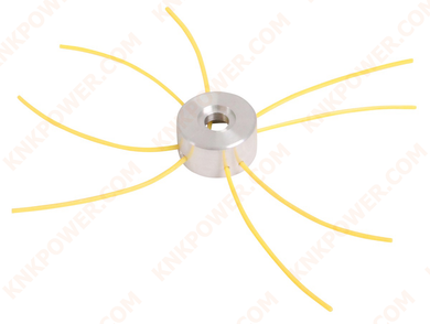 64-103 METAL TRIMMER HEAD Line: 1.6-3.5MM 4pcs Line Length: 40CM