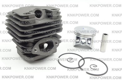 11-107 CYLINDER PISTON KIT ZENOAH 5800 CHAIN SAW KM0403580
