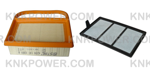 17-252 AIR FILTER 42381410300B STIHL TS410 TS420