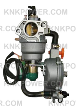 Load image into Gallery viewer, 36-4156 GAS CARBURETOR HONDA GX390 182F 188F