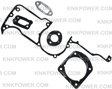 15-112 GASKET SET 501522606 501522604 HUSQVARNA 61 66 162 266 268 272 272XP AND JONSERED 625 630 670