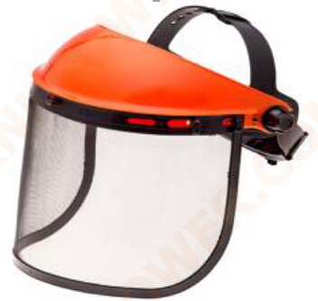 knkpower [16443] FACESHIELD WITH MESH VISOR