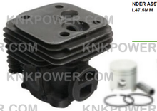 Load image into Gallery viewer, 11-241 Cylinder piston kit 504796201 848H001A1 ZENOAH EBZ8000 ENGINE BLOWER