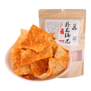 WOLONG Rice Crust Spicy Flavor 400g