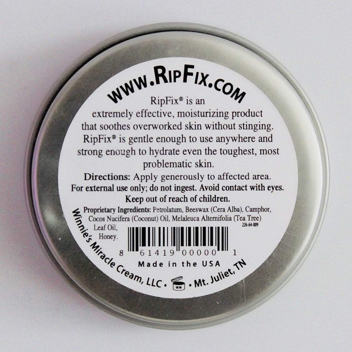 3-Pack Travel Size Tins (0.3oz) - RipFix  - how to heal blisters and calluses