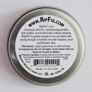 Travel-Size Tins (0.3oz) || CASE OF 24 UNITS - RipFix  - how to heal blisters and calluses