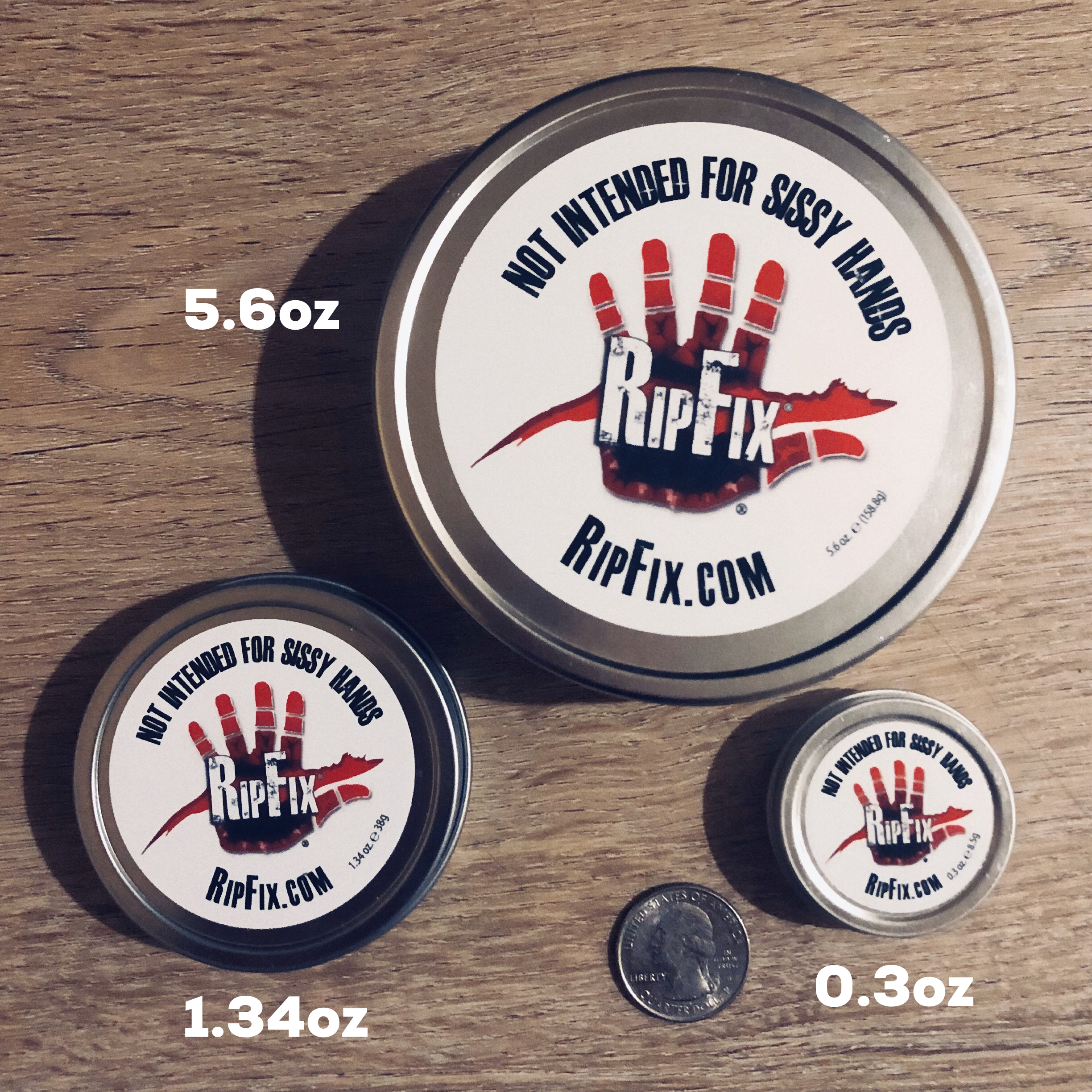 How To Heal Calluses, Blisters, and Skin Rips - RipFix  - The Super Tin (5.6oz)