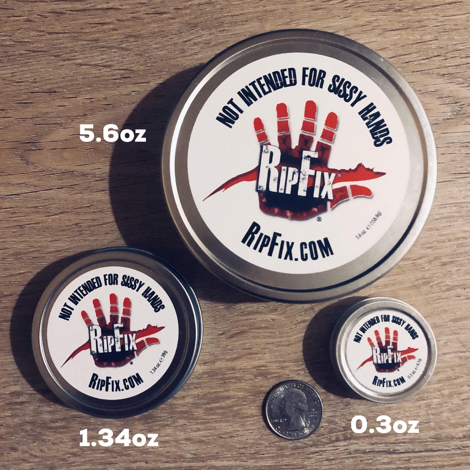 The Standard Tin (1.34 oz) || CASE OF 24 UNITS - RipFix  - how to heal blisters and calluses