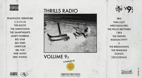 Thrills Radio 9.5 - Curated By Pist Idiots