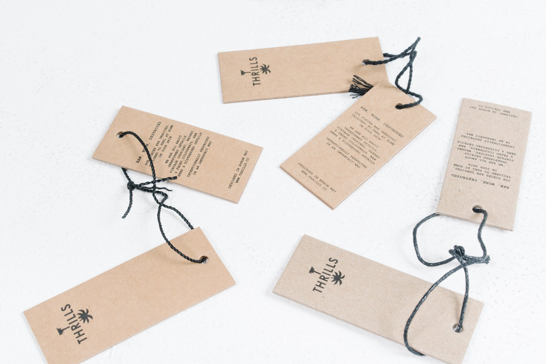 Thrills Recycled Cardboard Hangers