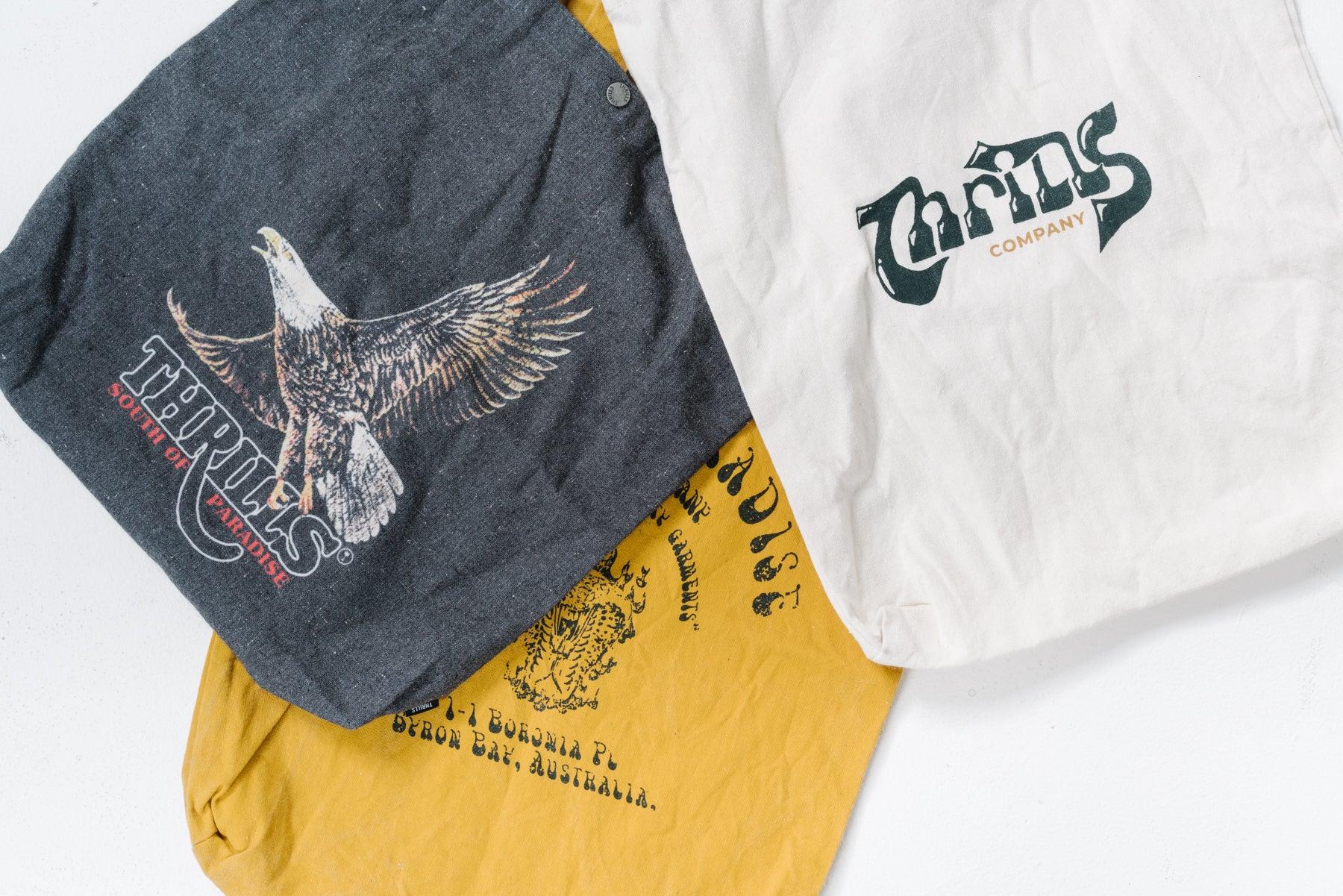 Thrills Recycled Cotton Tote Bags