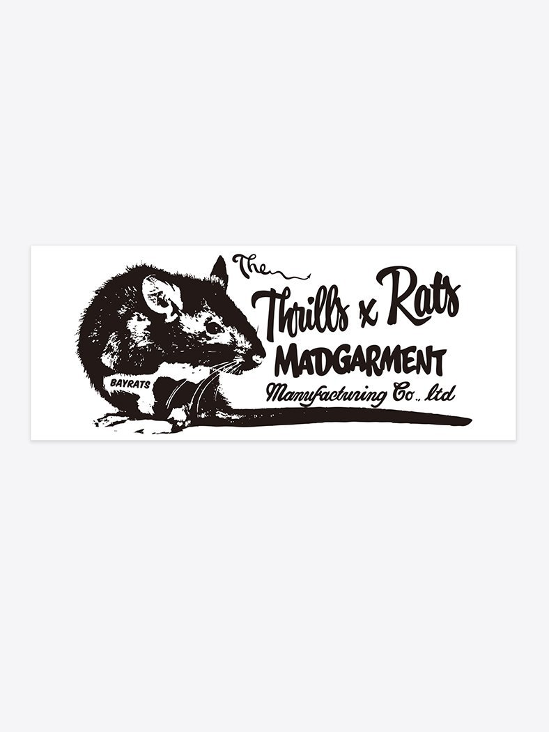 Rats x Thrills Sticker Pack x 2 - Assorted