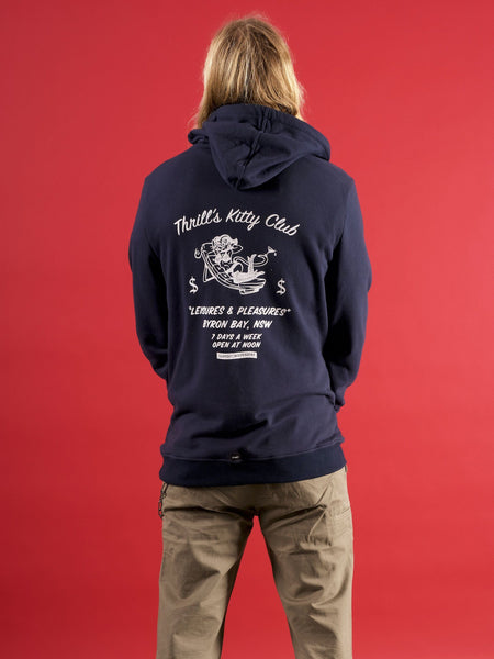 Kitty Club Hood - Navy
