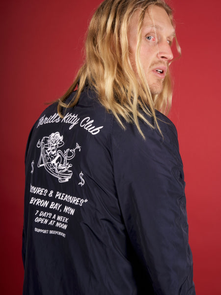 Kitty Club Spray Jacket - Navy
