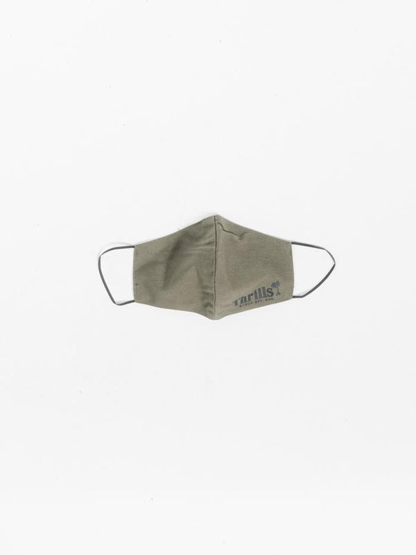 Palm Of Thrills Mask - Army Green