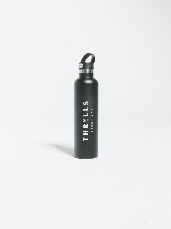 Palmed Thrills Water Bottle - Black