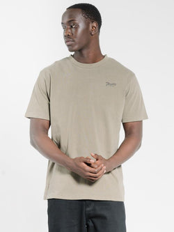 Scroll Company Merch Fit Tee - Desert