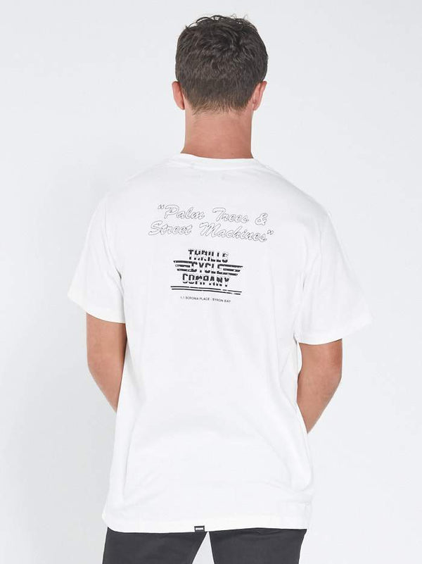 Strike Merch Fit Tee - Dirty White