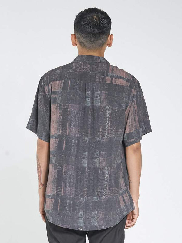 Untaped SS Shirt - Black Yardage