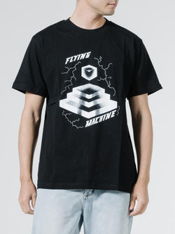 Flying Machine Merch Tee - Black