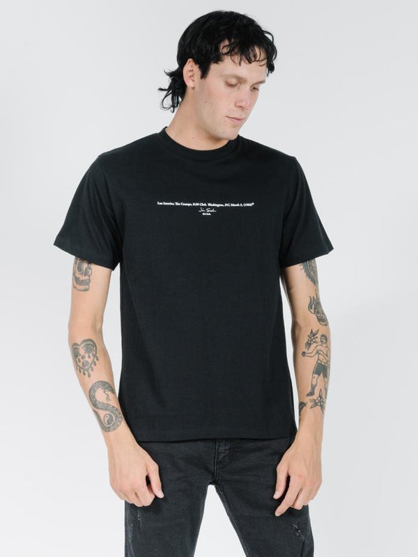 Lux Merch Fit Tee - Black