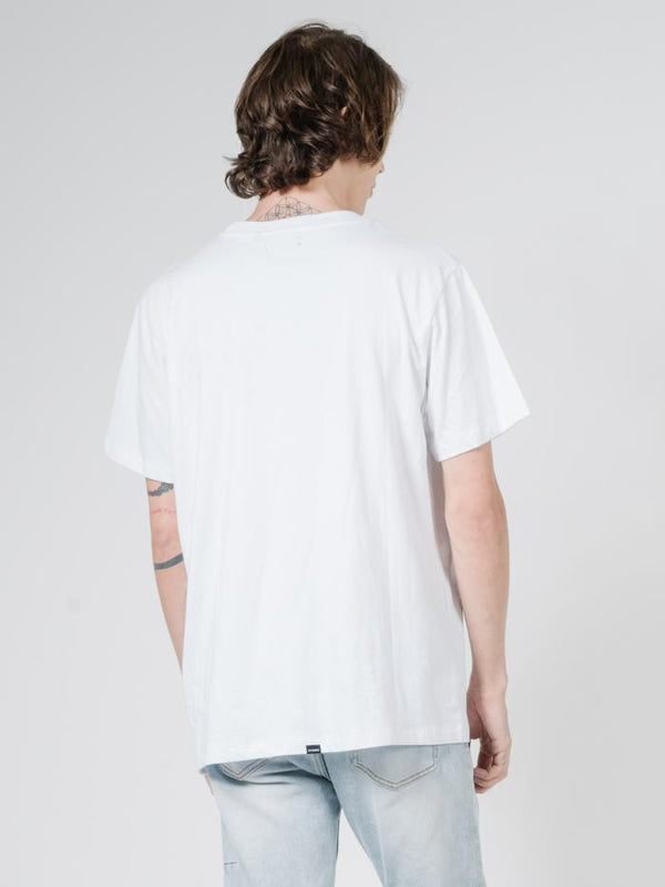 Merch Fit Tee - White