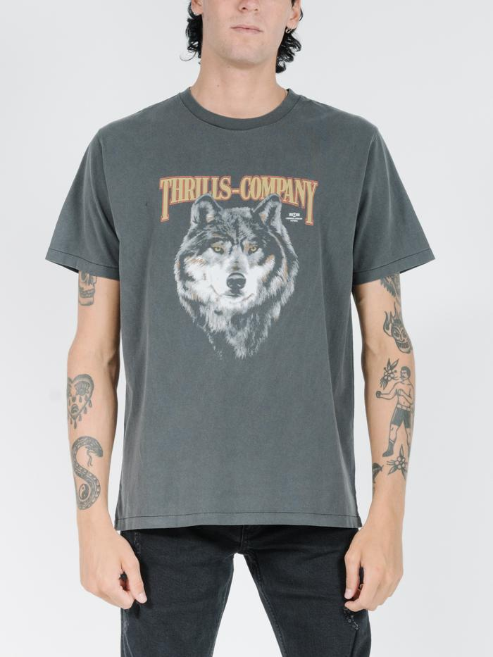 Wolf Merch Fit Tee - Merch Black