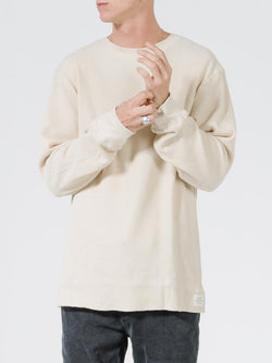 Troop Waffle LS Tee - Thrift White
