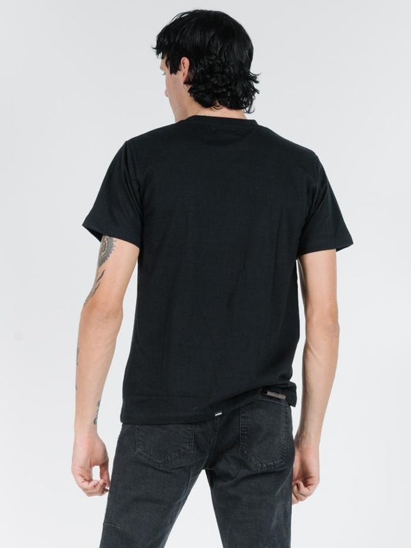 Henry Merch Fit Tee - Black