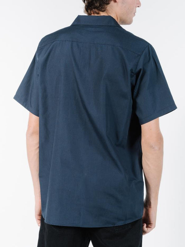 Bad Dreems Work Shirt - Washed Navy