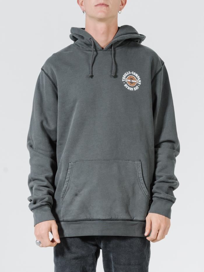 National Pullover Hood - Merch Black