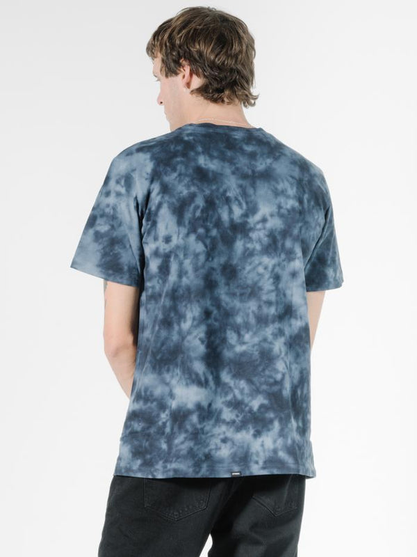 Liberty Eagle Merch Fit Tee - Midnight Blue Tie Dye