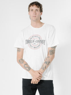 Street Plate Merch Fit Tee - Dirty White