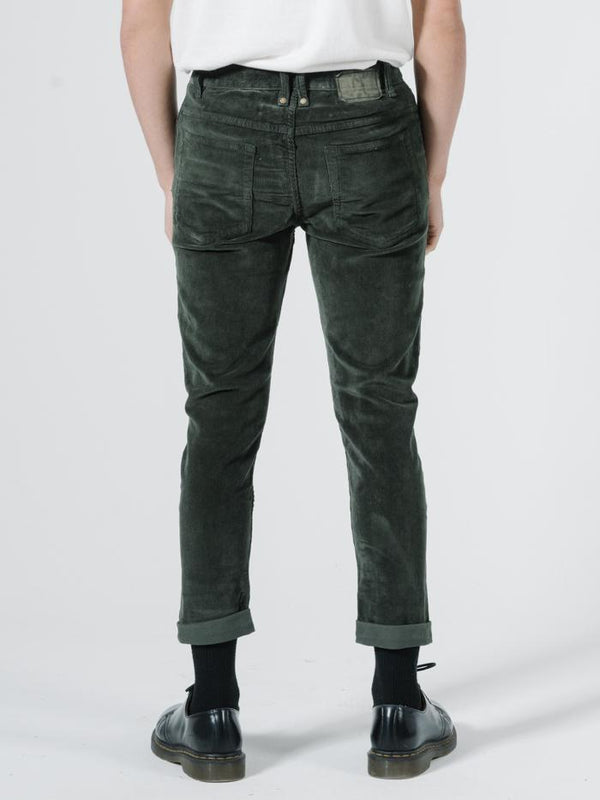 Shortie Cord Pant - Faded Jungle
