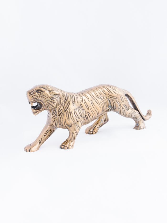 Tiger Incense Holder - Brass
