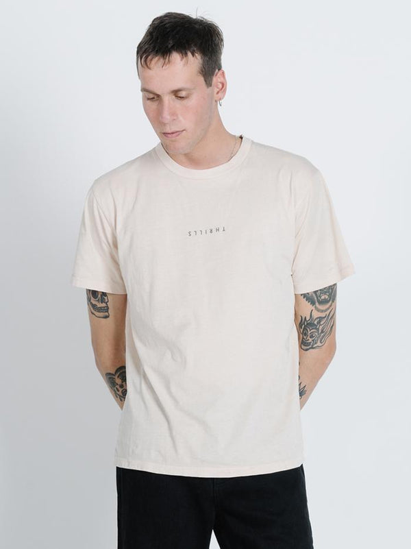 Minimal Thrills Merch Fit Tee - Thrift White