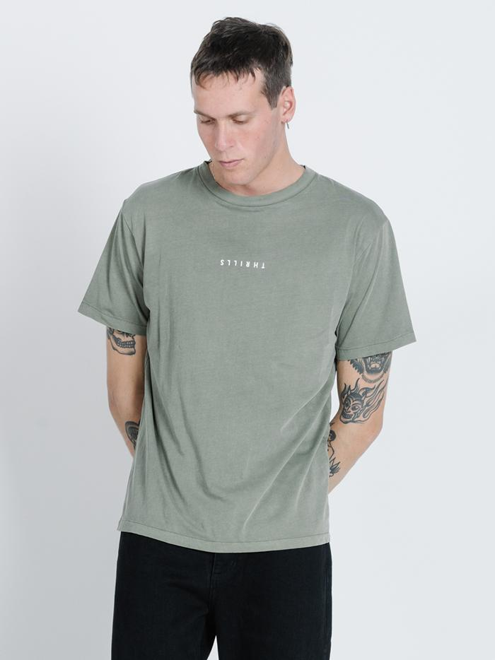Minimal Thrills Merch Fit Tee - Army Green