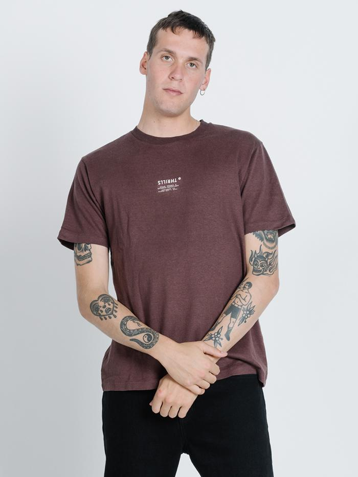 Liberty Merch Fit Tee - French Roast