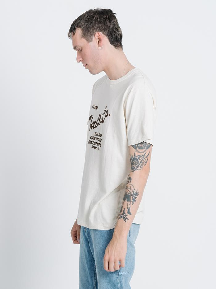 Scribe Merch Fit Tee - Thrift White