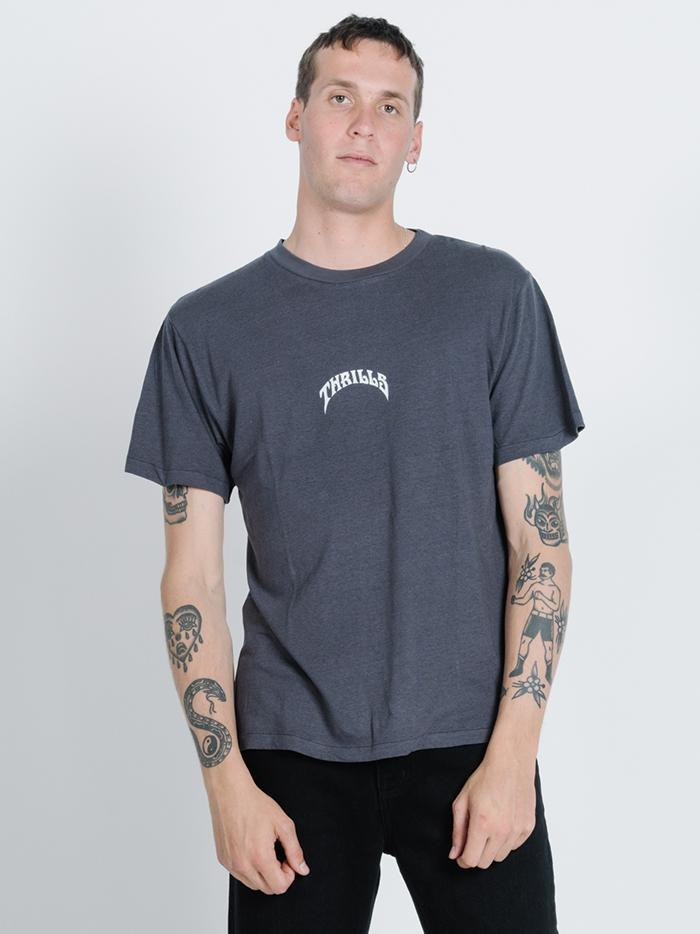King Paradise Merch Fit Tee - Washed Black