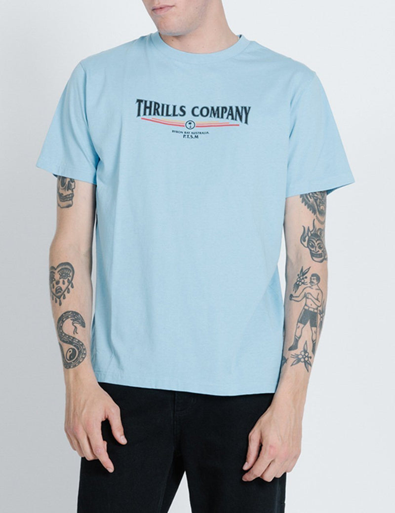 Redline Merch Fit Tee - Hickory Blue