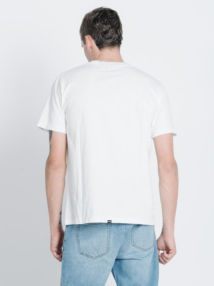 Dega Merch Fit Tee - Dirty White
