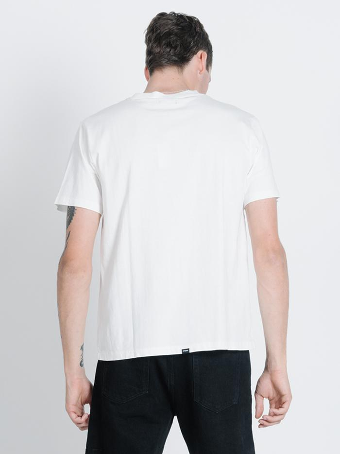 Too Fast Merch Fit Tee - Dirty White